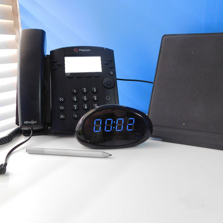 Covert Desk Clock Hidden Spy Camera w/WiFi