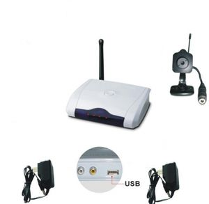 Mini 2.4GHz Spy Camera Wireless w/ Built-in USB Rcvr - Win7 64 Bit Compatible Version