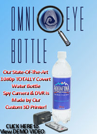 Onmi Eye Hi-Def Water Bottle Spy Camera/DVR