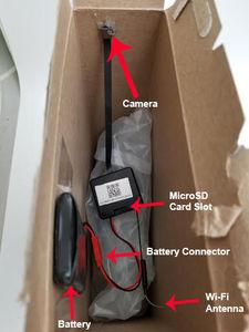 Do-It-Yourself WiFi 1080P Camera Kit