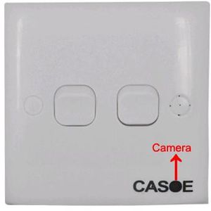 Hidden Camera Light Switch w/Video & Audio