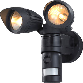 Home Spy Dual Flood Light Dvr