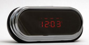 Mini ClockCam HD Hidden Clock Spy Cam/DVR