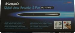 Black and Silver Recorder Pen (1 GB)