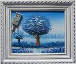 Landscape Wall Art Spy Camera/DVR