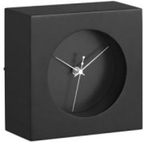 Bush Baby Modern Desk Clock w/10hr or 30hr Battery