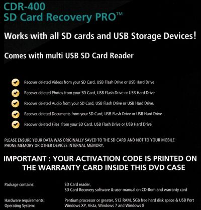 SD Cardsd card data recovery