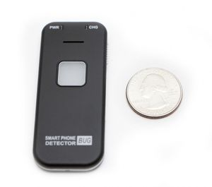 Compact Wireless Cellphone Bug Detector