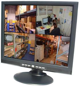 Cctv Video Monitor