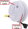 Bush Baby Wifi Dual Cam<br>Smoke Detector Spy Camera