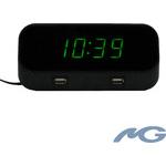 Bush Baby 4K Night Eye WiFi Alarm Clock Spy Camera/DVR