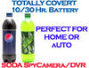 Soda Bottle<br>Spy Cam/DVR