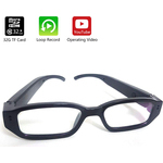 HD Eye Glasses Hidden Spy Camera w/Built in DVR