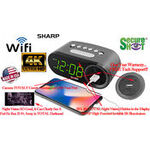 SecureShot HD Live View Sharp Alarm Clock Spy Camera/DVR