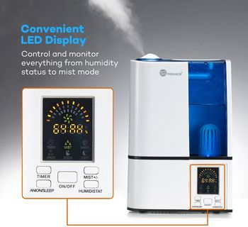 Secure Shot HD Live View Humidifier Spy Camera/DVR