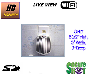 Secure Shot HD Live View Air Freshener Spy