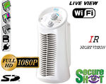 Secure Shot HD Live View Mini Tower Air Purifier Spy Camera