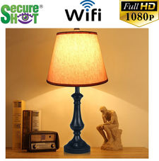 Secure Shot HD Live View Antique Lamp Spy Camera/DVR
