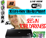 Secure Shot HD Live View Samsung  BluRay Player Hidden Camera/DVR