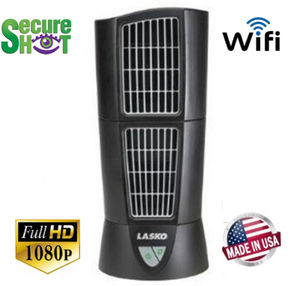SecureShot HD Live View Oscillating Fan Hidden Camera/DVR w/Nightvision