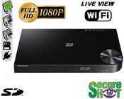 SecureShot HD Live View Samsung BluRay Player Hidden CameraDVR