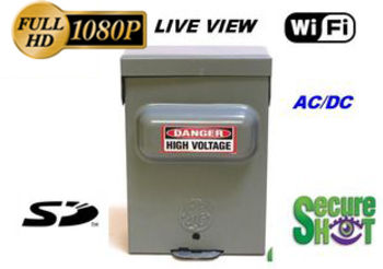 Secure Shot HD Live View Utility Box Spy Camera/DVR