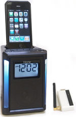 Secure IP Digital Wireless Covert Cube Clock Radio