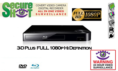 Secure Shot Nighthawk Blu Ray Player With Nightvision Sees in Total Darkness