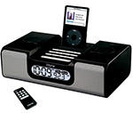 SecureShot IPOD Docking Station Clock Radio Covert Hidden Camera & DRV