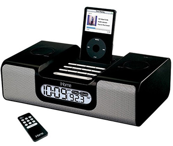 SecureShot Covert Camera DVR Ipod Docking Station Clock Radio Hidden Cameras