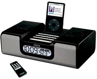 SecureShot IPOD Docking Station Clock Radio Covert Hidden Camera/DRV