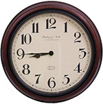 SecureShot Battery Powered Wall Clock Hidden Camera