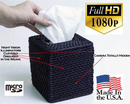 hidden camera bathroom. Introducing the most effective  1 Best Bathroom Spy Camera Covert Tissue Box video camera SpyGearCo and Surveillance