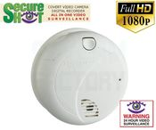 SecureShot First Alert Smoke Detector Camera/DVR w/NightVision & 6 Month Battery
