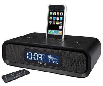 SecureShot IHOME for Ipod Iphone Dually Hidden Camera