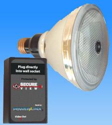 Secureview Flood Light Spy Cam