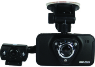 Mini 1080HD Dash Camera With Built-In DVR and LCD