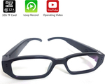 HD Eye Glasses Hidden Spy Camera with Built in DVR