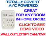 Functional Wall Outlet Spy Camera/DVR