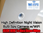 Streetwise Cube Clock WiFi IP Camera w/Night Vision