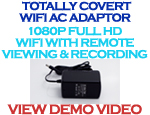 Full HD Wifi AC Adapter Camera