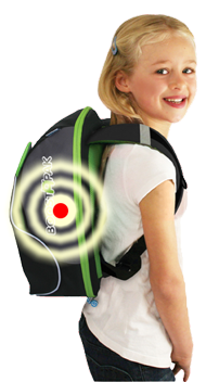 GoTek8 in Back Pack