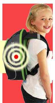 GoTek8 in Back Pack